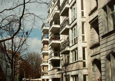 Building - Rental Bamberger Strasse - side view